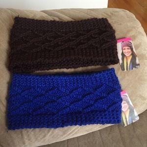 NWT Cable Knit Headband Bundle Lot